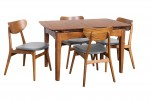 Ascot Table Finland Charcoal Teak