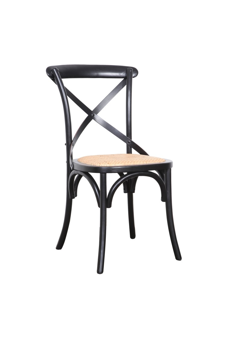 Crossback Chair Black