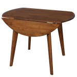 Drop Side Table Sides Down Teak