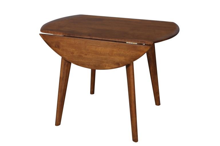 Drop Side Table Sides Down Teak