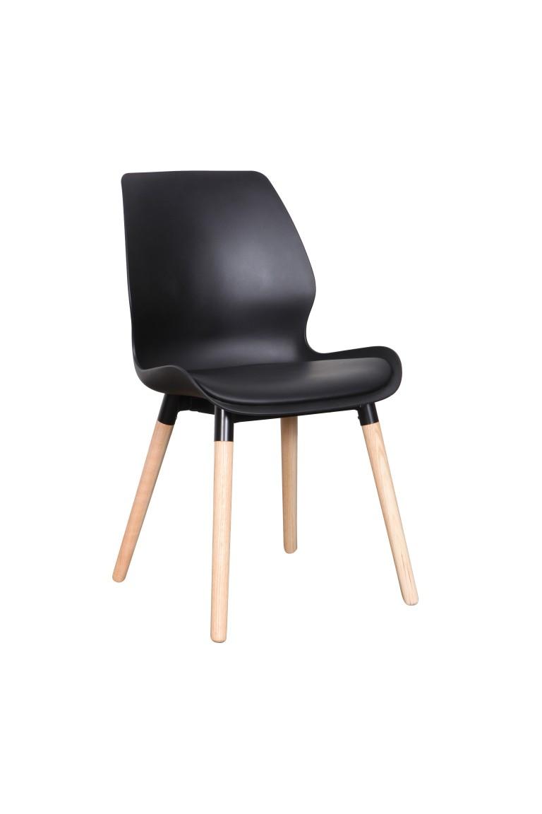 Europa Chair PP black Nat 1