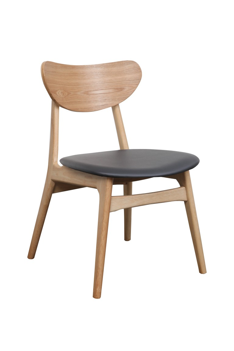 Finland Chair Black Nat