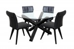 Sala Round Table Black 4 Hendriks Black