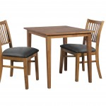 Tina 750x750 Teak Austria Chair black PU