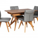 York 1300 Auto Ext Teak CLOSED 4x Hendriks Chair Charcoal Teak