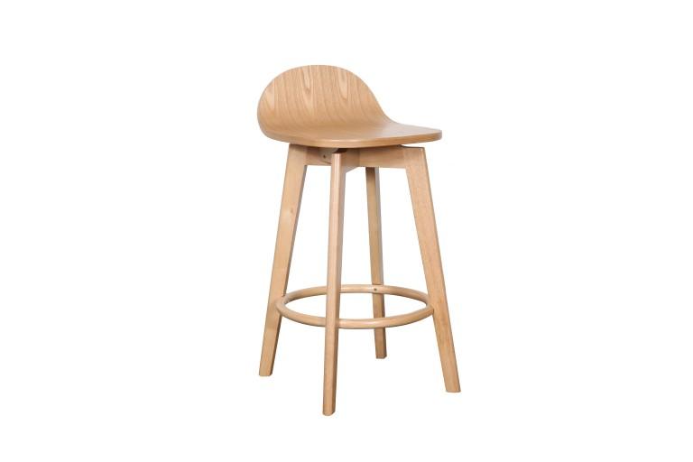 Caulfield Stool Veneer Seat