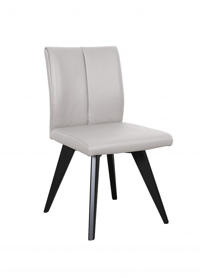 Hendriks Chair Light Grey Black (3)