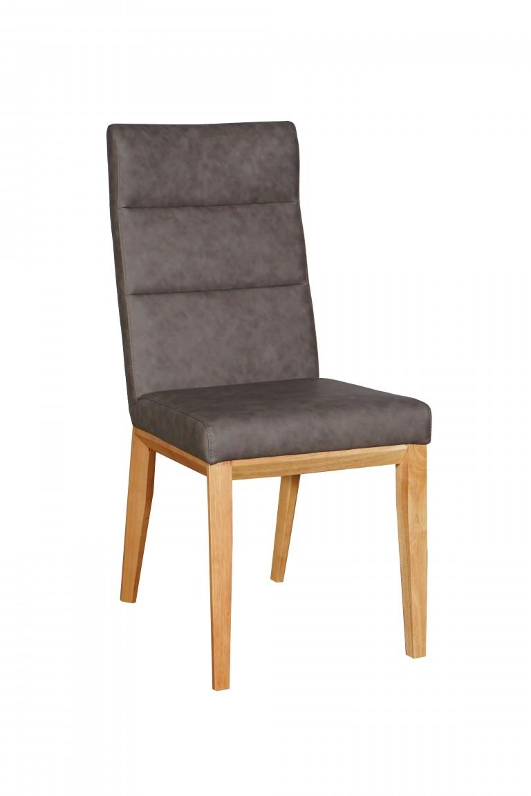 Ibiza Chair Natural PU Smoke
